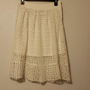 Haute Monde lace skirt